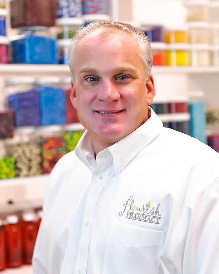 Photo - Jerrod Roberts, Flourish Integrative Pharmacy owner  © Robert Trawick - Provided by Flourish Integrative