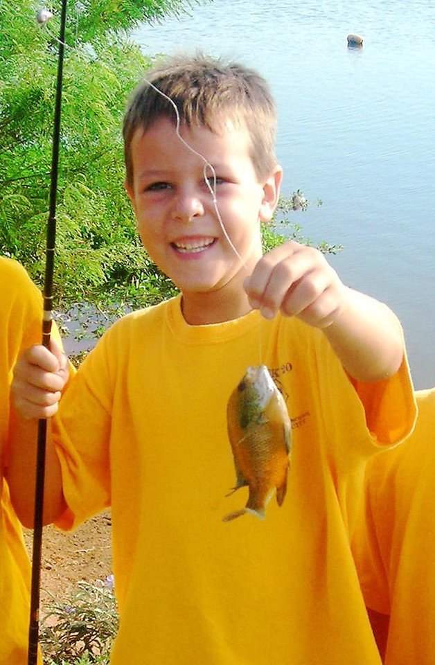 Photo - Tommy Wolf The 9-year-old died  Monday in an incident at his Nichols Hills home.