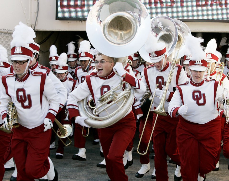 Photo - The University of Oklahoma band