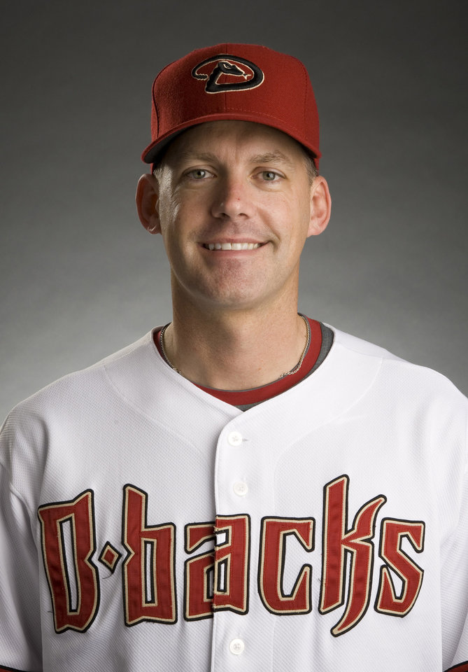 Photo - In this photo provided by the Arizona Diamondbacks, A.J. Hinch poses for a headshot after being announced as the Arizona Diamondbacks new baseball manager on Friday, May 8, 2009 in Phoenix, AZ. (AP Photo/Arizona Diamondbacks, Jonathan Willey) ** NO SALES** ORG XMIT: AZMY201