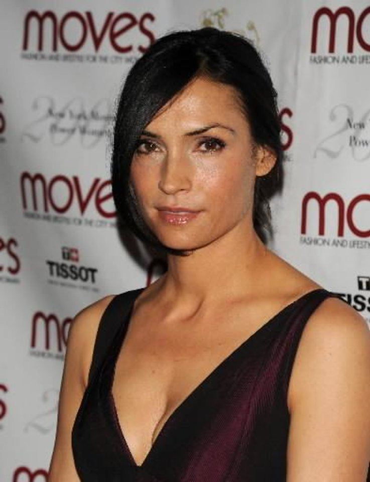 "Famke Janssen is the director of ""Bringing Up Bobby.""   (AP Photo/Peter Kramer) <strong>Peter Kramer</strong>"