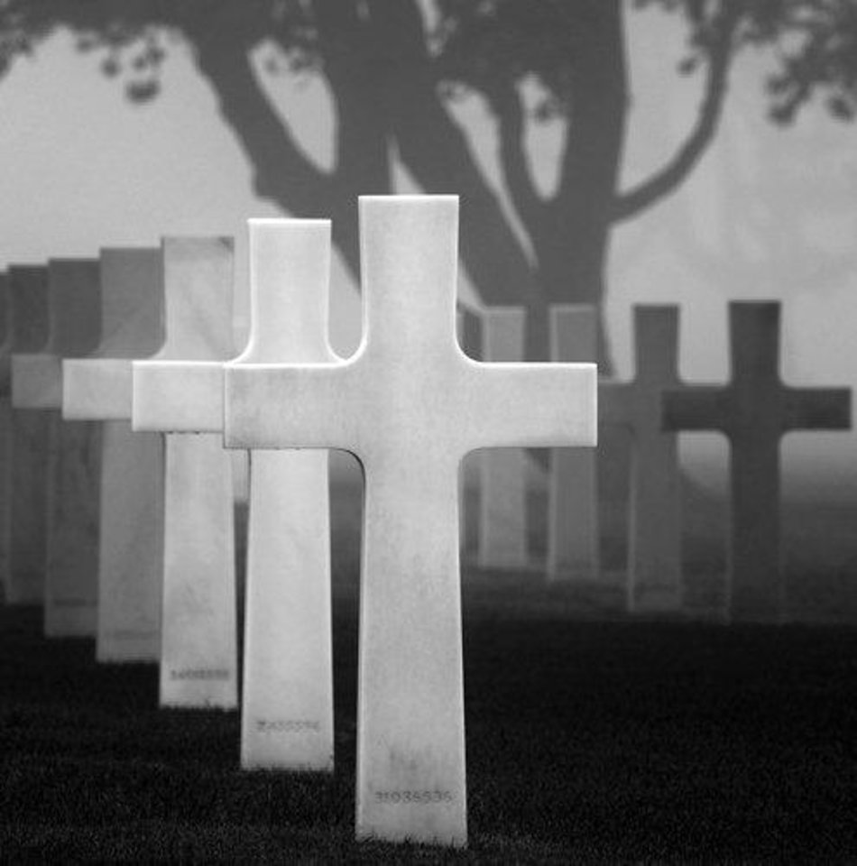 �American Cemetery II� by photographer Hakan Strand. Photo provided