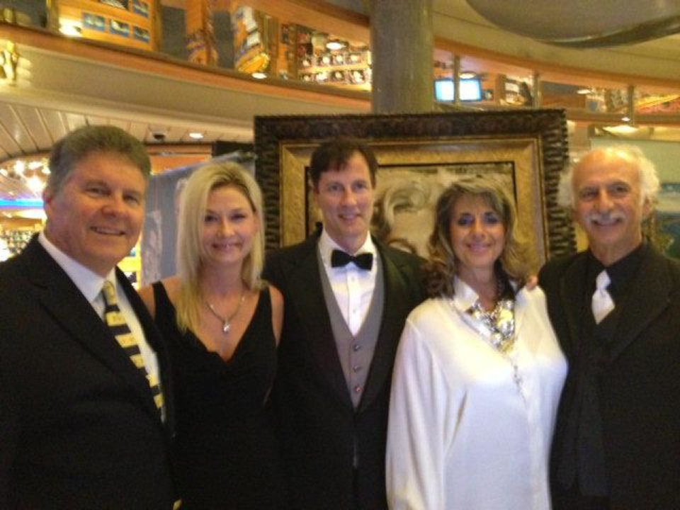 Photo - Dr. Joe Fallin, Sandra and Dr. Douglas Beal, Patrice and Dr. Gary Rahill. PHOTO PROVIDED
