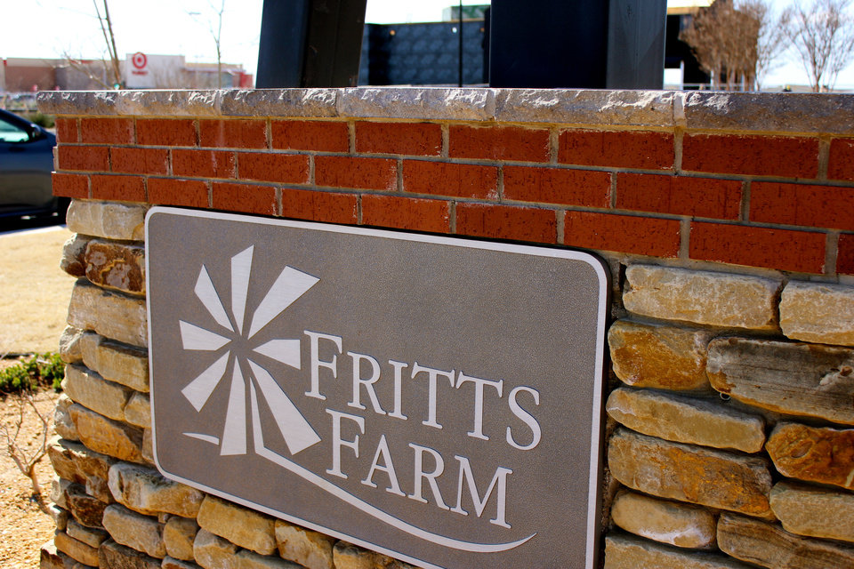Photo - A sign for the Fritts Farm retail development in Moore is seen where a new Dick's Sporting Goods is being built. PHOTO PROVIDED BY DIRECT DEVELOPMENT