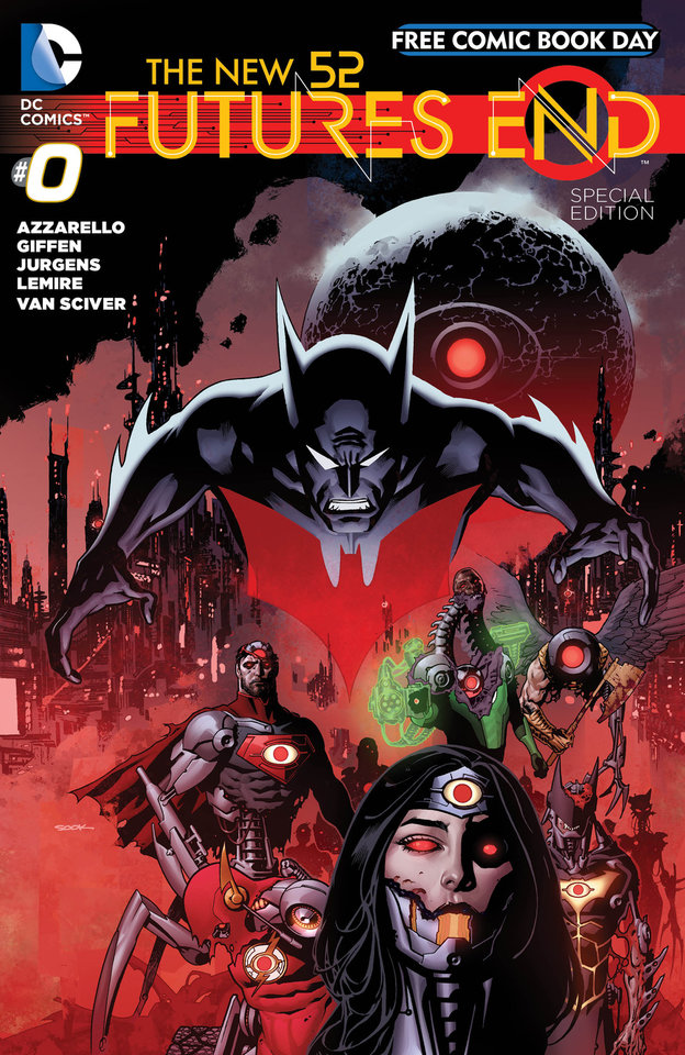 """Photo -  DC Comics looks to the future in its Free Comic Book Day title, """"Futures End"""" No. 0, which is the kickoff to a new weekly comic-book series. DC Comics photo"""