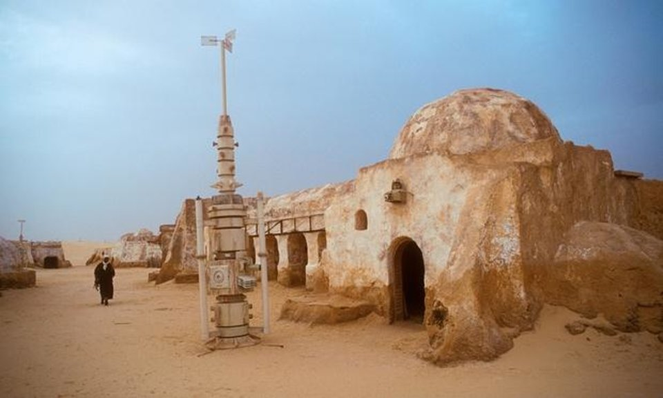Photo - An old Star Wars set in Tunisia is a dangerous tourist draw.