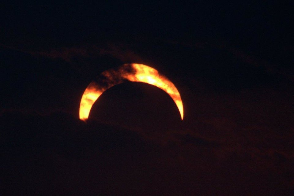 Solar Eclipse #2, May 20, 2012 near Sweetwater, Ok