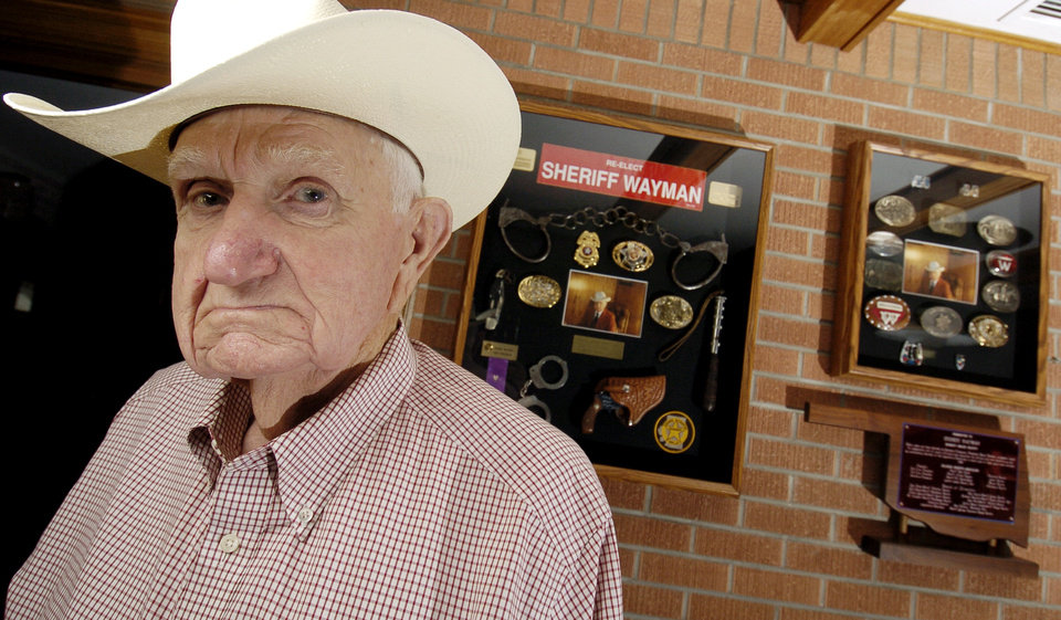 Photo -  Former Osage County Sheriff George Wayman in 2006. [Matt Strasen, The Oklahoman]