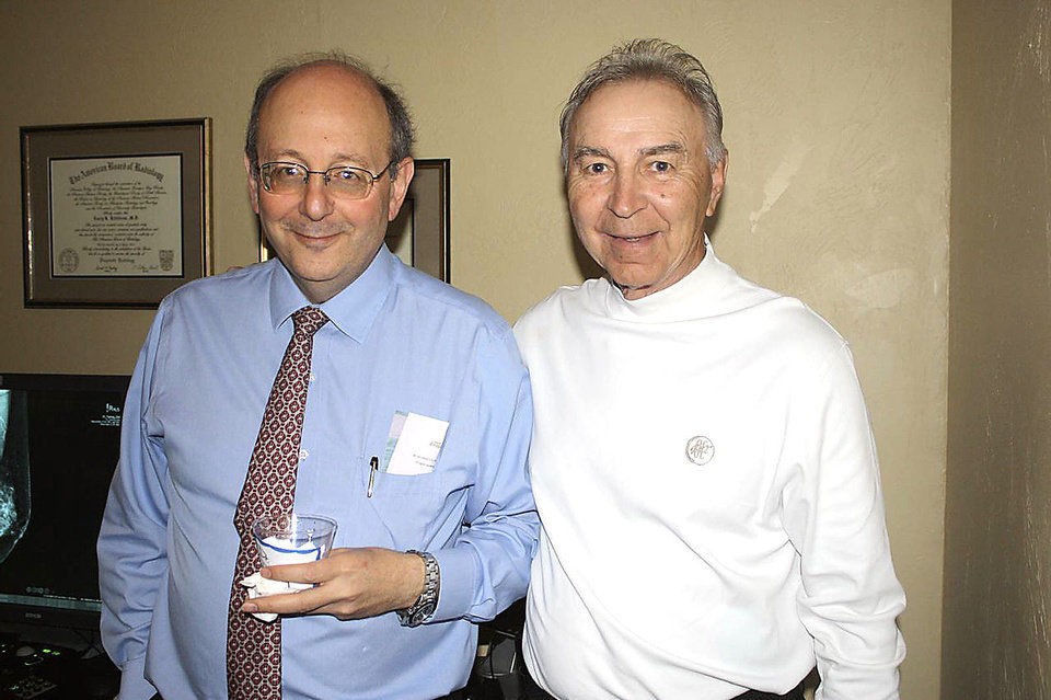 Photo - Dr. Dean Drooby, Dr. Larry K. Killebrew.