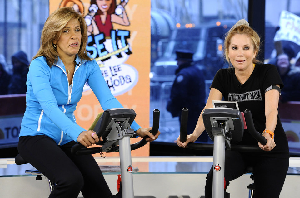 Photo -   FILE - In this Jan. 7, 2011 file image originally released by NBC Universal, Hoda Kotb, left, and Kathie Lee Gifford co-hosts of the fourth hour of the
