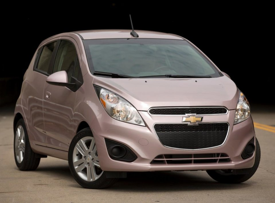 This undated image provided by Chevrolet shows the 2013 Chevrolet Spark. (AP Photo/Chevrolet)