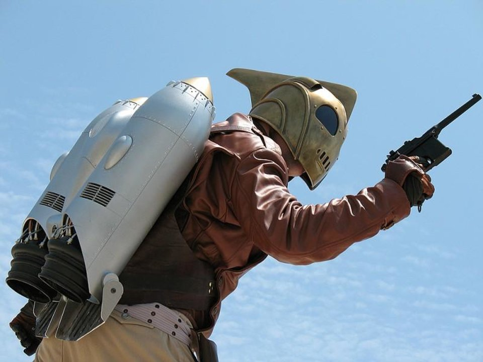 Photo - Disney's The Rocketeer.