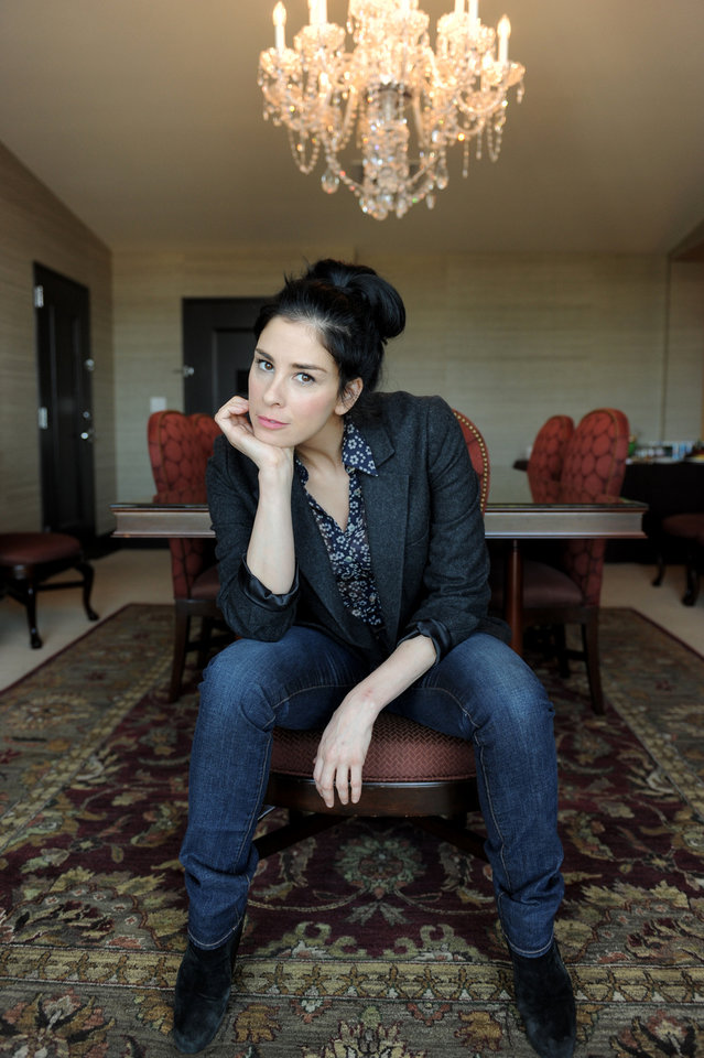 Photo -   FILE - In this Monday, Oct. 15, 2012 file photo, Sarah Silverman, a cast member in