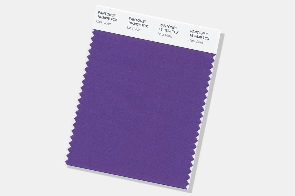 Photo - Ultra Violet ... Pantone's color of the year for 2018.