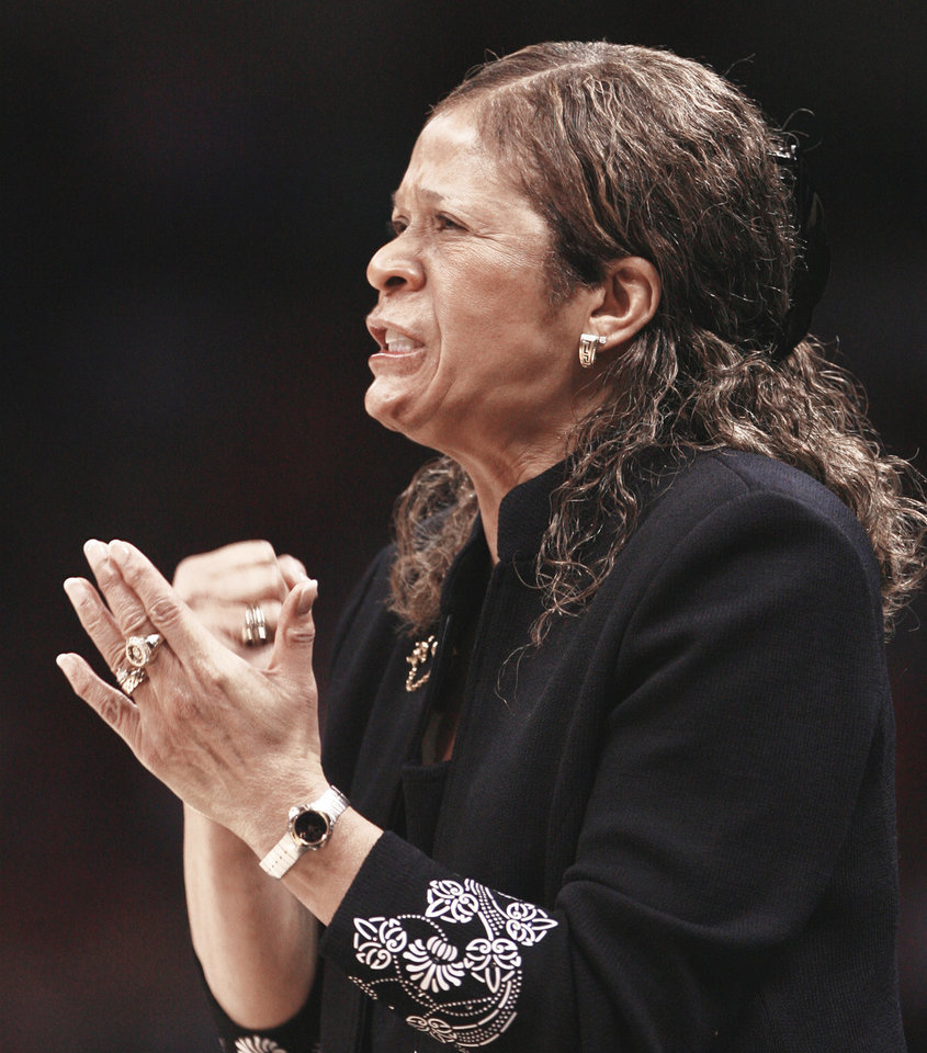 C. Vivian Stringer's Rutgers team was a No. 7 seed in this year's tournament. Photo by steve sisney, the oklahoman
