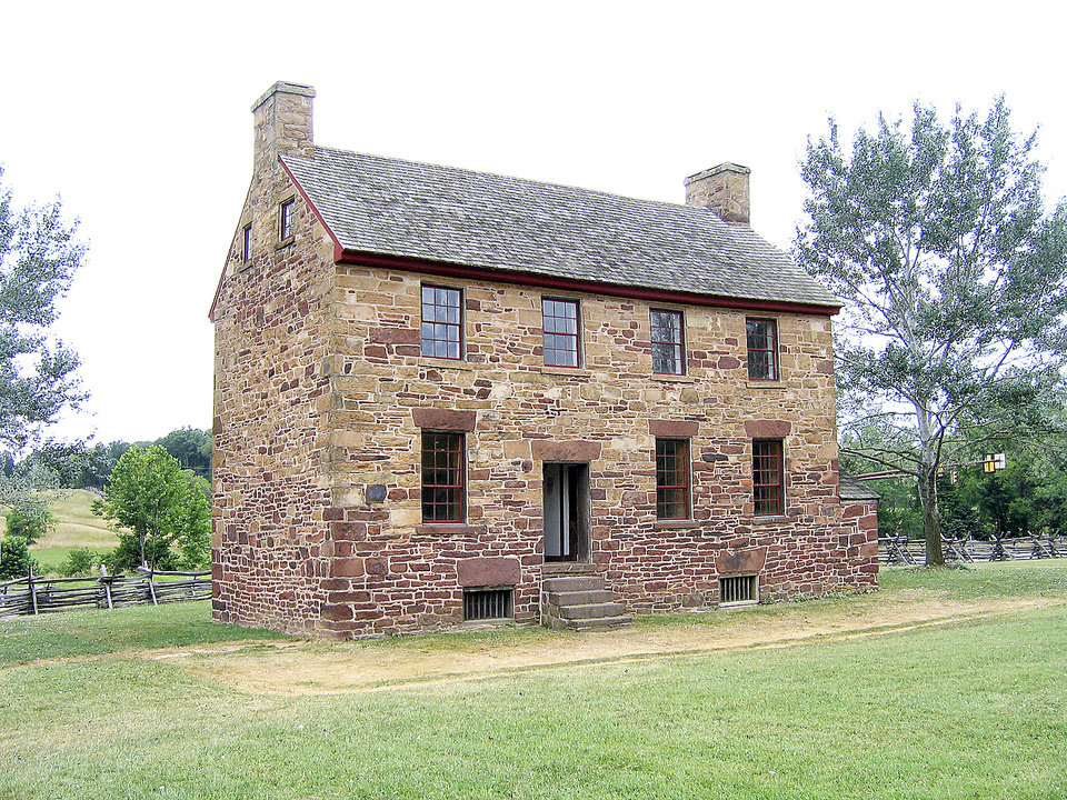 Photo - The Stone House, located in the Manassas National Battlefield Park, dates from 1848.PHOTO BY RICK ROGERS, THE OKLAHOMAN