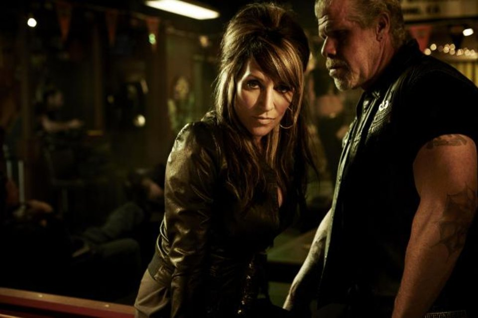 "Katey Sagal and Ron Perlman star in ""Sons of Anarchy"" - FX Photo"