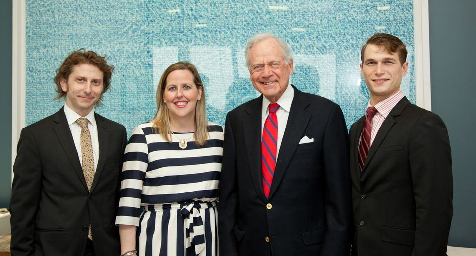 Photo -  Chad Mount, Louisa McCune-Elmore, Bill Bell, Gerald Pines. PHOTOs PROVIDED