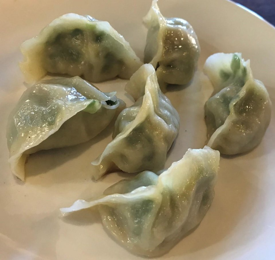 Photo - Pot stickers from Northern Noodle House in Oklahoma City. [Dave Cathey/The Oklahoman]