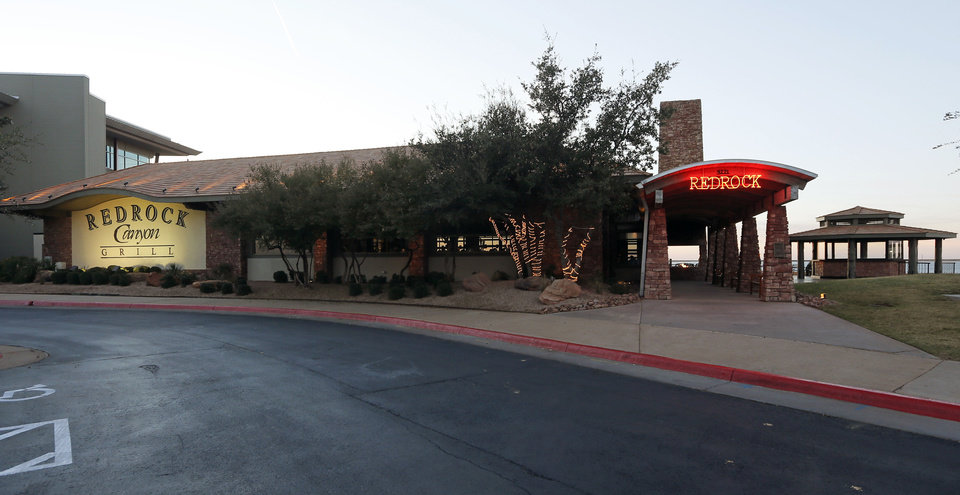 An exterior view of Redrock Canyon Grill in Oklahoma City, Monday, Nov. 5, 2012. Photo by Nate Billings, The Oklahoman