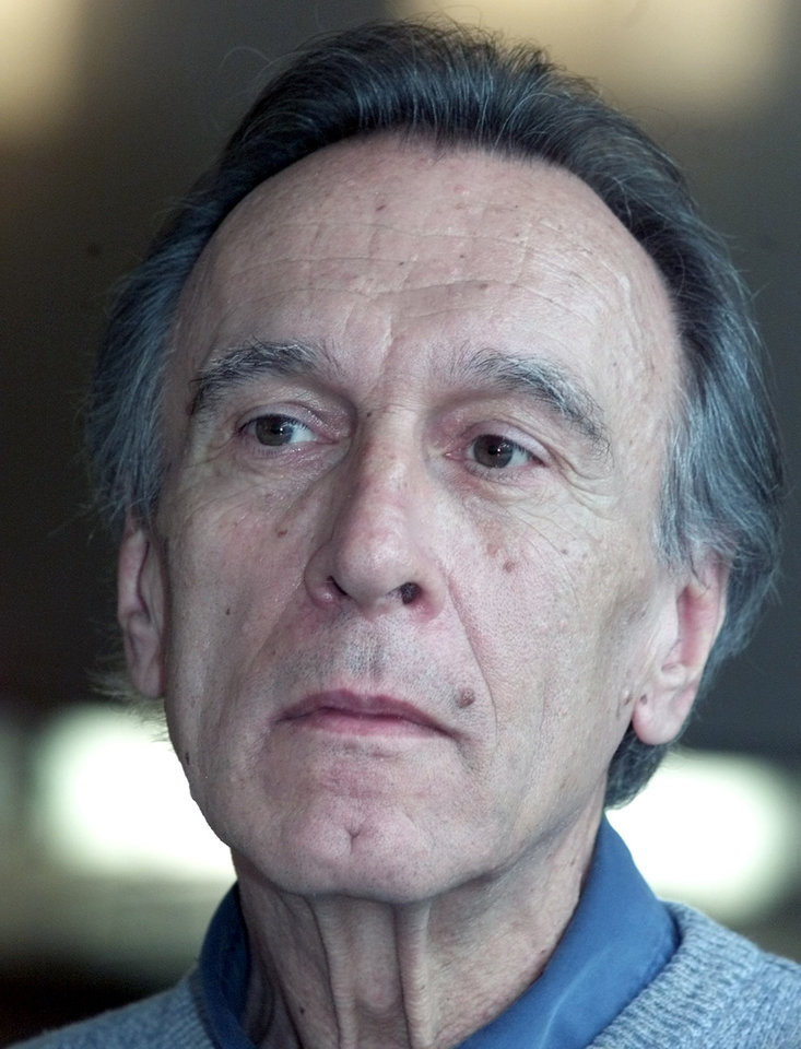 Photo - FILE - In this April 23, 2001 file photo, senior conductor of the Berlin's philharmonic orchestra Claudio Abbado attends a press conference in Berlin. Claudio Abbado, a star in the great generation of Italian conductors who was revered by musicians in the world's leading orchestras for developing a strong rapport with them while still allowing them their independence, has died Monday, Jan. 20, 2104. He was 80. Abbado made his debut in 1960 at La Scala in his home city of Milan and went on to be its musical director for nearly 20 years. Among his many other stints were as musical director of the Vienna State Opera, the Berlin Philharmonic and the London Symphony Orchestra and chief guest conductor of the Chicago Philharmonic. Even as he battled illness in his later years, Abbado founded his own all-star orchestra in Lucerne, Switzerland. (AP Photo/Roberto Pfeil)