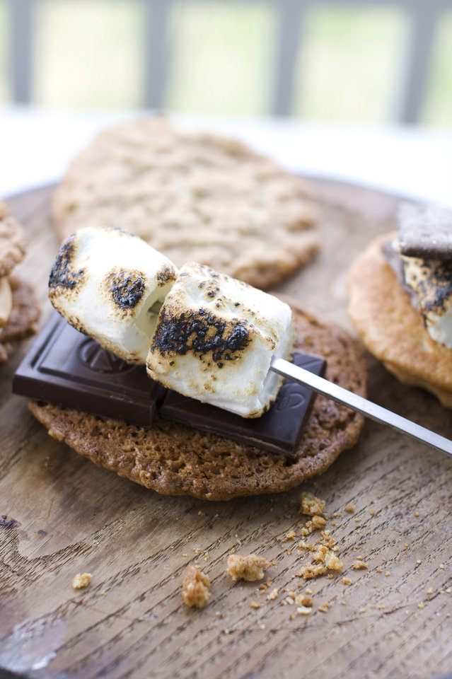 Photo - Salted oatmeal s'mores. AP Photo  Matthew Mead - AP