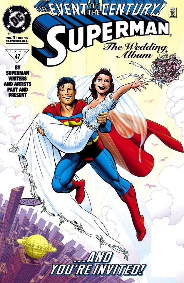 Photo - Superman Wedding Album [DC Comics]