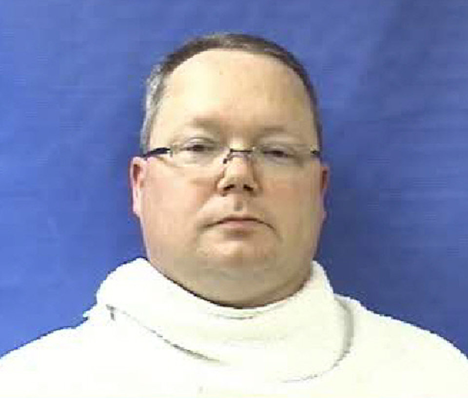 Photo - File - This photo provided by the Kaufman County Sheriff's Office shows Eric Williams. Texas authorities have arrested the former justice of the peace's wife, Kim Lene Williams. Online jail records do not list charges against her and officials in Kaufman County wouldn't immediately comment on the reason for her arrest. A law enforcement official has said authorities are trying to build a case against Eric Lyle Williams in the deaths of Kaufman County District Attorney Mike McLelland and his wife, Cynthia. (AP Photo/Kaufman County Sheriff's Office, File)