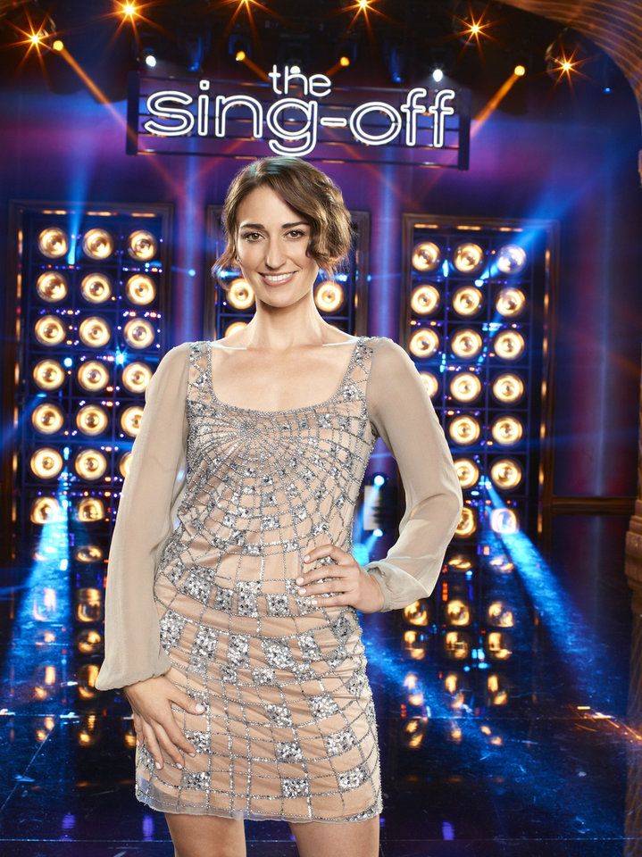 Photo -  THE SING-OFF -- Season: 3 -- Pictured: Sara Bareilles -- Photo by: Mitchell Haaseth/NBC