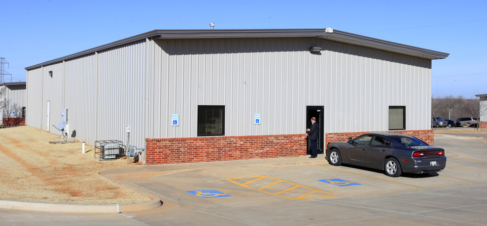 Photo -      Victory EMS is at 1275 N Air Depot in Midwest City. Photo by Paul B. Southerland, The Oklahoman   PAUL B. SOUTHERLAND - PAUL B. SOUTHERLAND