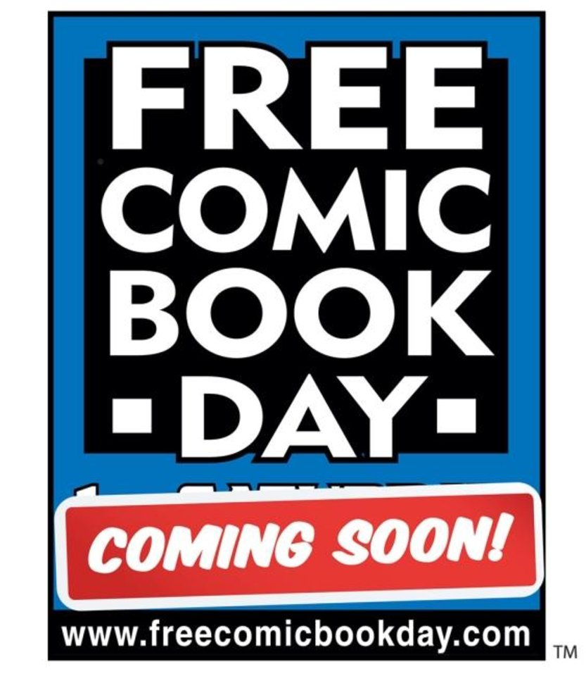 Photo -  Diamond Comic Distributors has announced that Free Comic Book Day, typically held the first Saturday in May, will be postponed. [Diamond Comics]