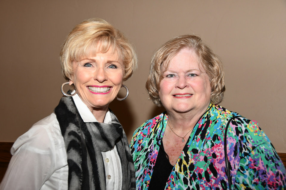 Photo -  Darlene Parman, Dixie Jensen. PHOTO BY FRAN KOZAKOWSKI