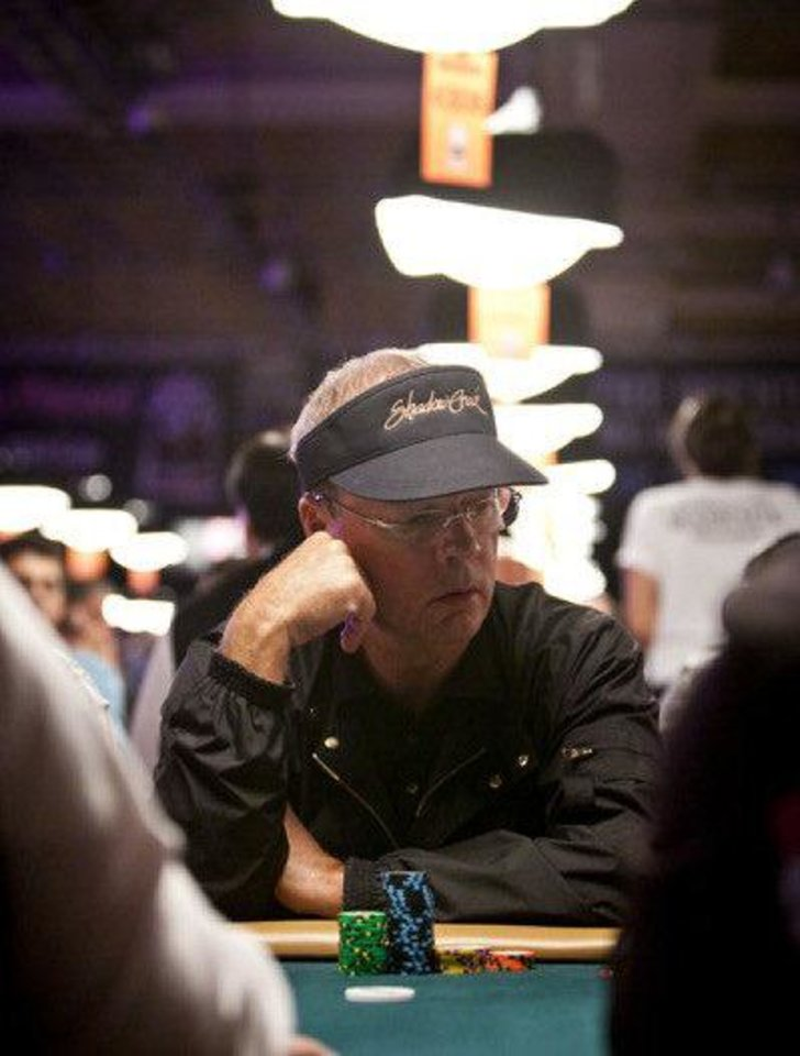 Bobby Baldwin at the 2011 World Series of Poker. Photo courtesy WSOP. <strong>Jonathan Boncek</strong>