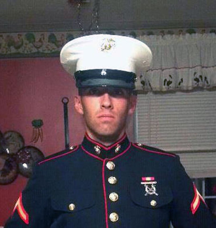 Pfc. Josh Martino is seen in this undated photo provided by his brother Tony Perry. Martino, 19, a native of Dubois, Pa., was killed along with six others by an explosion during a training exercise at Hawthorne Army Depot in Nevada Monday March 18, 2013.  (AP Photo/Courtesy of Tony Perry)