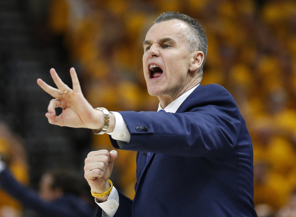 Photo -  Oklahoma City coach Billy Donovan shouts to his team during Friday's Game 6 loss to the Utah Jazz. The Thunder was eliminated from the NBA playoffs. [AP PHOTO]