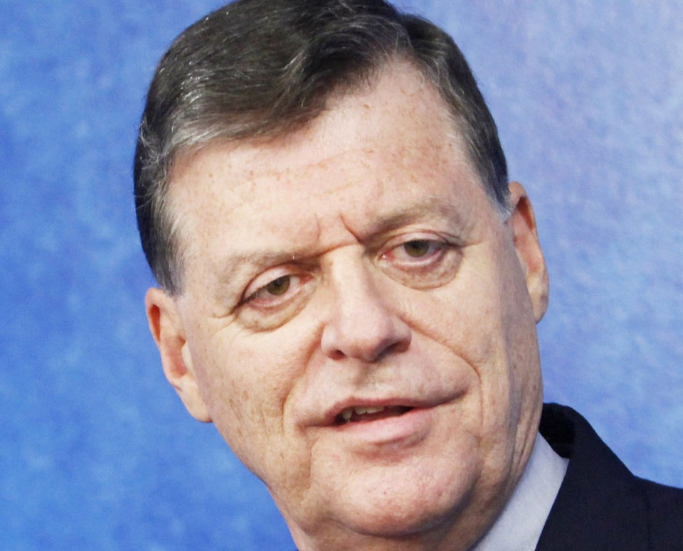 Photo - U.S. Rep. Tom Cole  PAUL B. SOUTHERLAND
