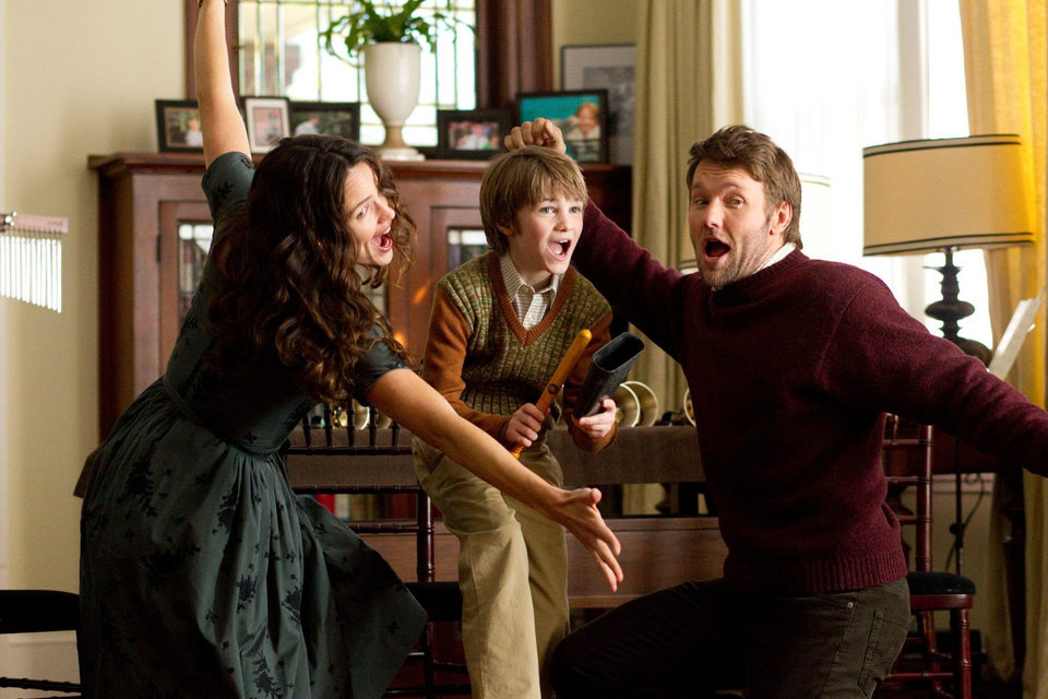 "From left, Jennifer Garner, CJ Adams and Joel Edgerton star in the Disney family feature ""The Odd Life of Timothy Green."" Photo provided. <strong></strong>"