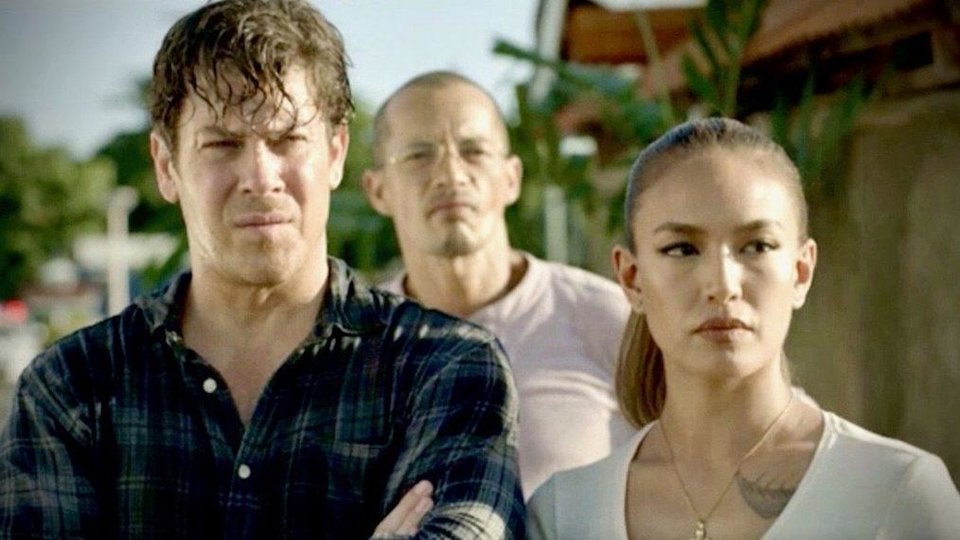 Photo - From left, Christian Kane, Arthur Acuña and Samantha Richelle star in the new series