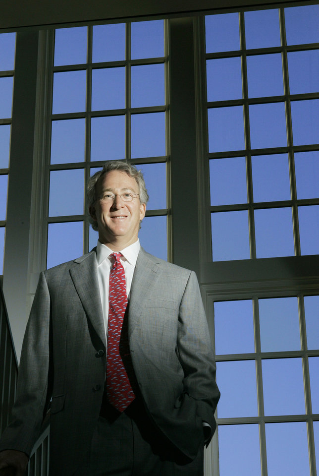Photo - 10/17/05 Chesapeake Energy Corp. CEO Aubrey McClendon for Oklahoma Inc. Doug Hoke /The Oklahoman.