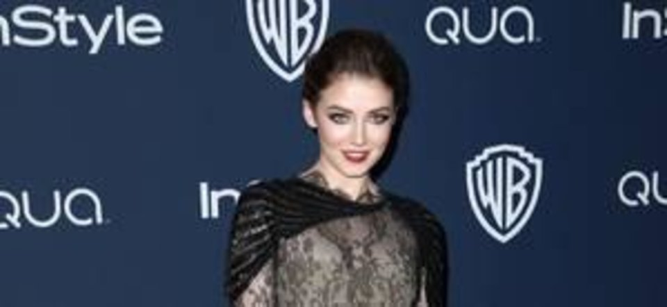 Sarah Bolger has a heart-shape face which looks best with a rounded, arched eyebrow. AP Photo.