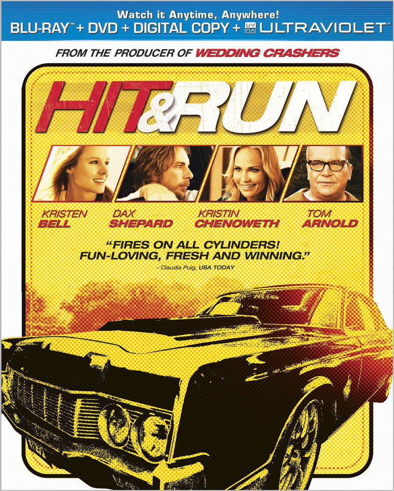 Artwork for the movie 'Hit & Run' <strong></strong>