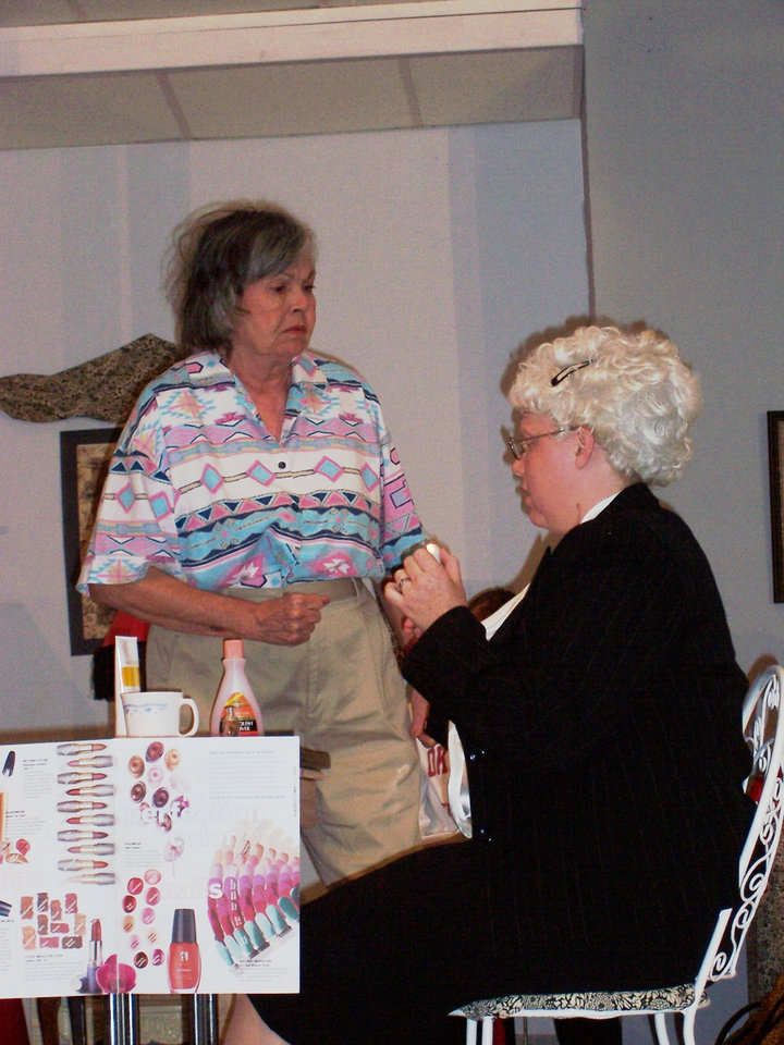 Steel Magnolias produced by The Groovy Group Theatre Troupe in Midwest City. Performances November 2, 3, 4 at 7:30 p.m.<br/><b>Community Photo By:</b> Tracy Allard<br/><b>Submitted By:</b> Erica, Edmond