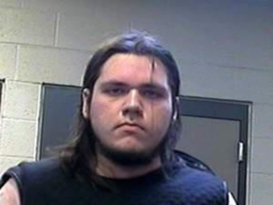 Photo of Jerrod Murray via the Pottawatomie County Sheriff\'s Office Facebook page