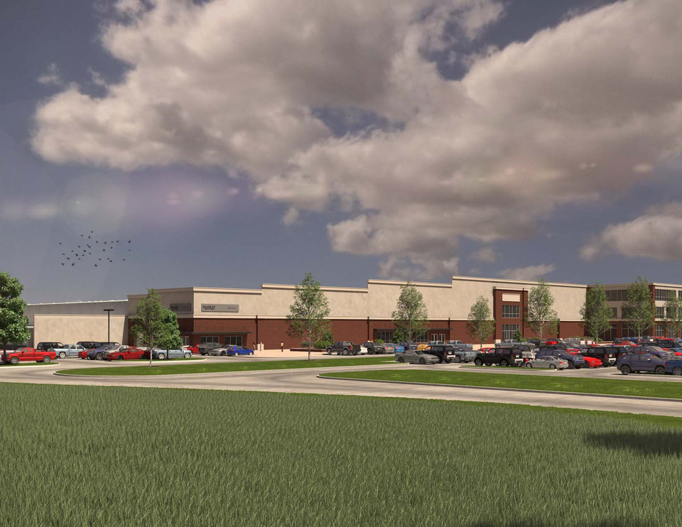 Photo -  Some Northeast Oklahoma City residents say they are opposed to Kimray Inc.'s plans to build a new headquarters at E. Britton Road and N. Eastern Ave.