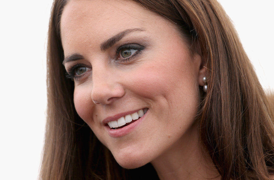 Photo - FILE - In this Thursday, July 26, 2012, file photo, Britain's Kate, Duchess of Cambridge attends a reception as she visits Bacon's College in  London.  In Google's 12th annual roundup of global trending searches, Kate Middleton was ranked sixth.(AP Photo/Chris Jackson, file)