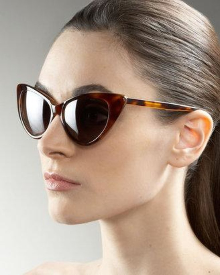 Tom Ford Nikita cat eye sunglasses.