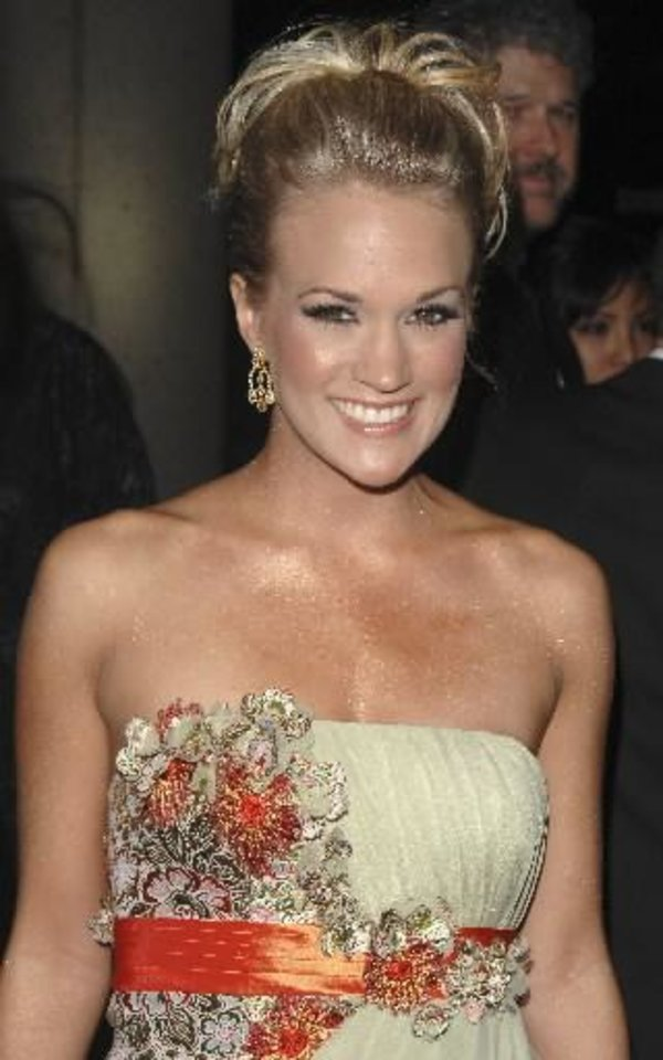 Photo -  Carrie Underwood (AP file photo)