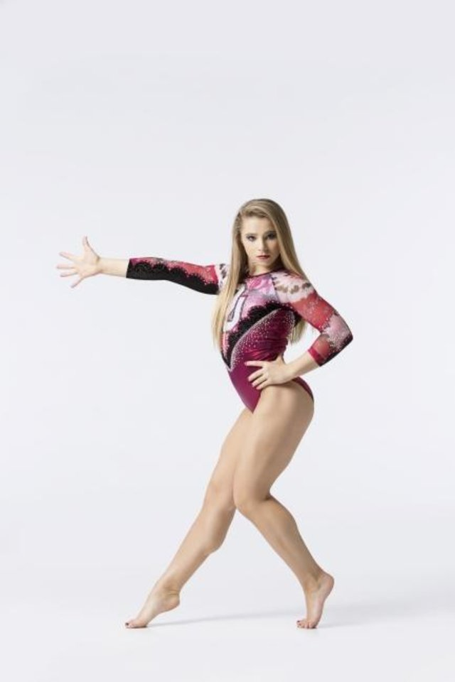 Photo -  Ragan Smith begins her collegiate career with the Sooners on Saturday in the Collegiate Challenge in Anaheim, Calif. [OU ATHLETICS PHOTO]
