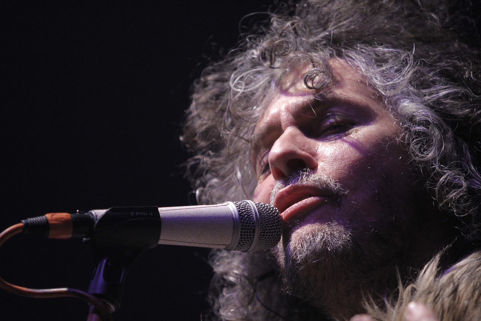 Wayne Coyne of The Flaming Lips. Photo by Garett Fisbeck, The Oklahoman <strong>Garett Fisbeck</strong>