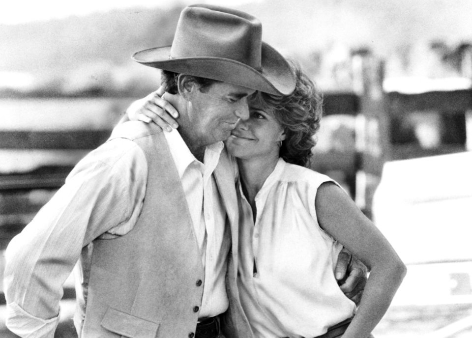 "Photo - James Garner and Sally Field starred in the 1985 movie ""Murphy's Romance"""